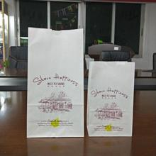 China factory customized size Biodegradable paper bag for packaging French Fries/ fried chicken wings