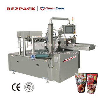 Rotary Double-Bags Pack-Fill-Seal Machine