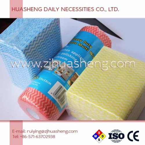 Nonwoven Spunlace Disposable Kitchen Wipes & Cleaning Tissue