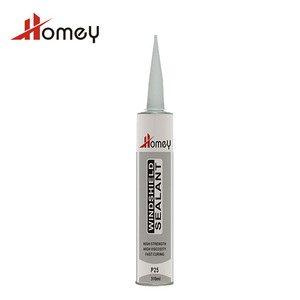 Homey P25 fast curing carbody auto glass silicone sealant