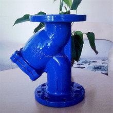 Low Pressure Ductile Iron Flanged Y Type Strainer Valves