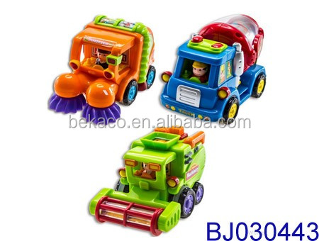 6pcs Push and Go Friction Powered Car Toys for Boys