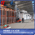 Gypsum board making machine