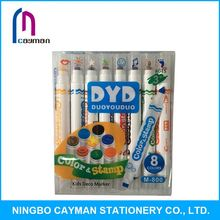 Various colors available indelible ink marker pen