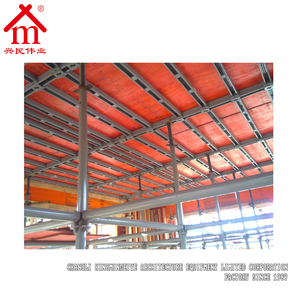 Metal Formwork Shuttering Boards For Roof