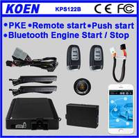 2016 Easy Install Two Way Car Alarm System With Remote Engine Start ,GPS/GSM