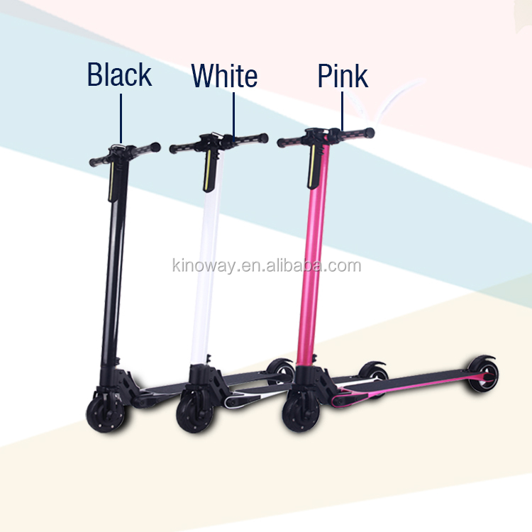 Factory directly sale 5 inch carbon fiber electric scooter with CE approved