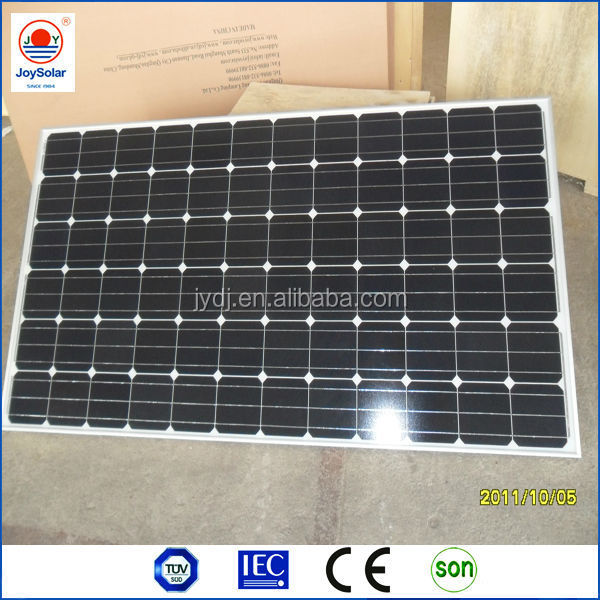 24V 200w 270 watt cheap solar module / small pv solar panel module in China