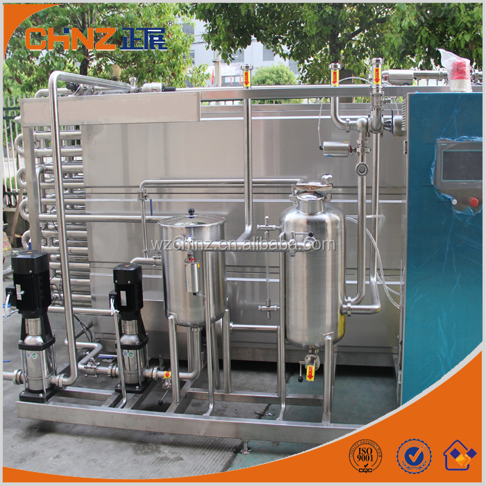 high efficiency milk pasteurization machine with factory price
