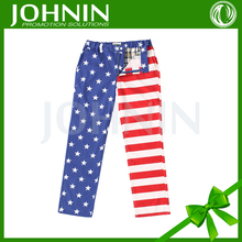 Best sellers promotion Adults eye-catching american flag khakis