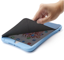 2016 New Design Silicone Tablet Case with Removable Leather Cover With Wake up and Sleep Function for iPad mini1/2/3