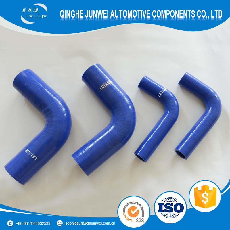 45 Degree 3PLY Silicone Elbow Hose Coupler 63mm Intercooler Pipe Turbo,BlUE