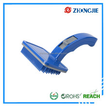 Latest Design Directly Supply Rotating Microfiber Plastic Dog Hair Brush