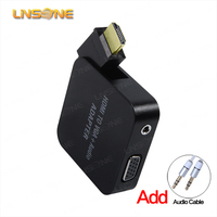 Linsone Low price hdmi to vga and scart to vga converter for HD 1080p