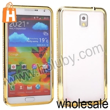 for Samsung Galaxy Note 3 Diamante Bumper Case,Electroplated Bumper Frame Case for Samsung Galaxy Note 3 N9000
