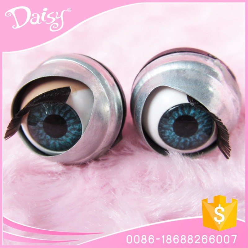 High quality large plastic 20mm doll moving eyes