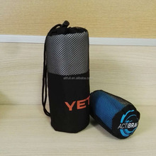 innovative printed microfiber beach/bath/gym/travel towel microfiber sports towel with mesh bags
