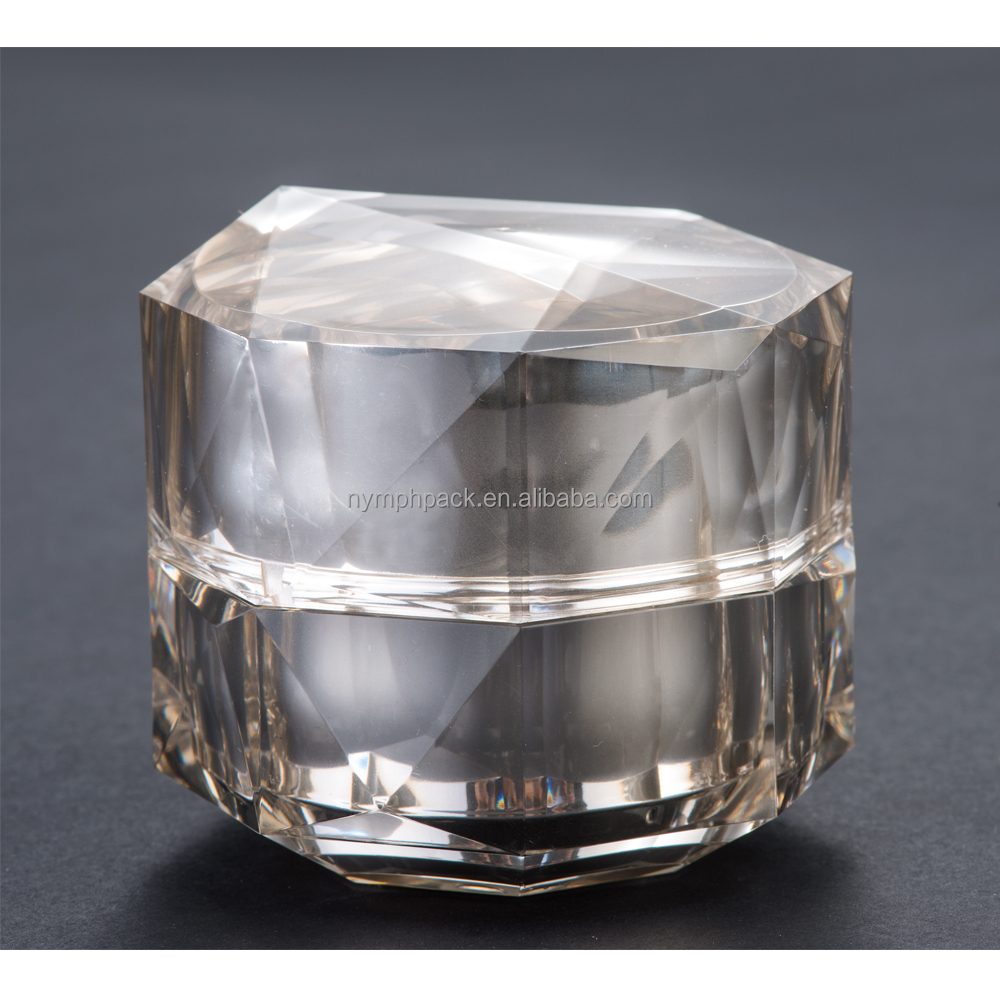 50g 30g acrylic jars packaging cosmetics