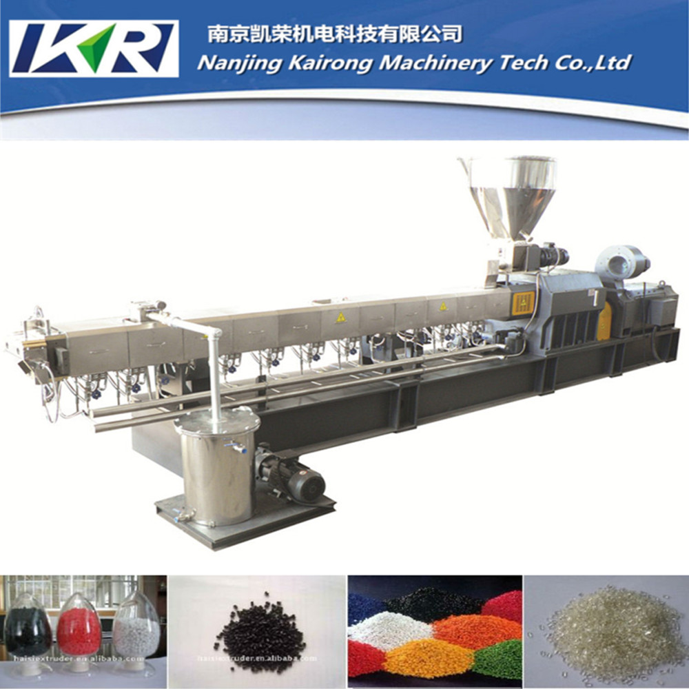 pp pe plastic raw material recycled pellets second hand plastic extruder machine
