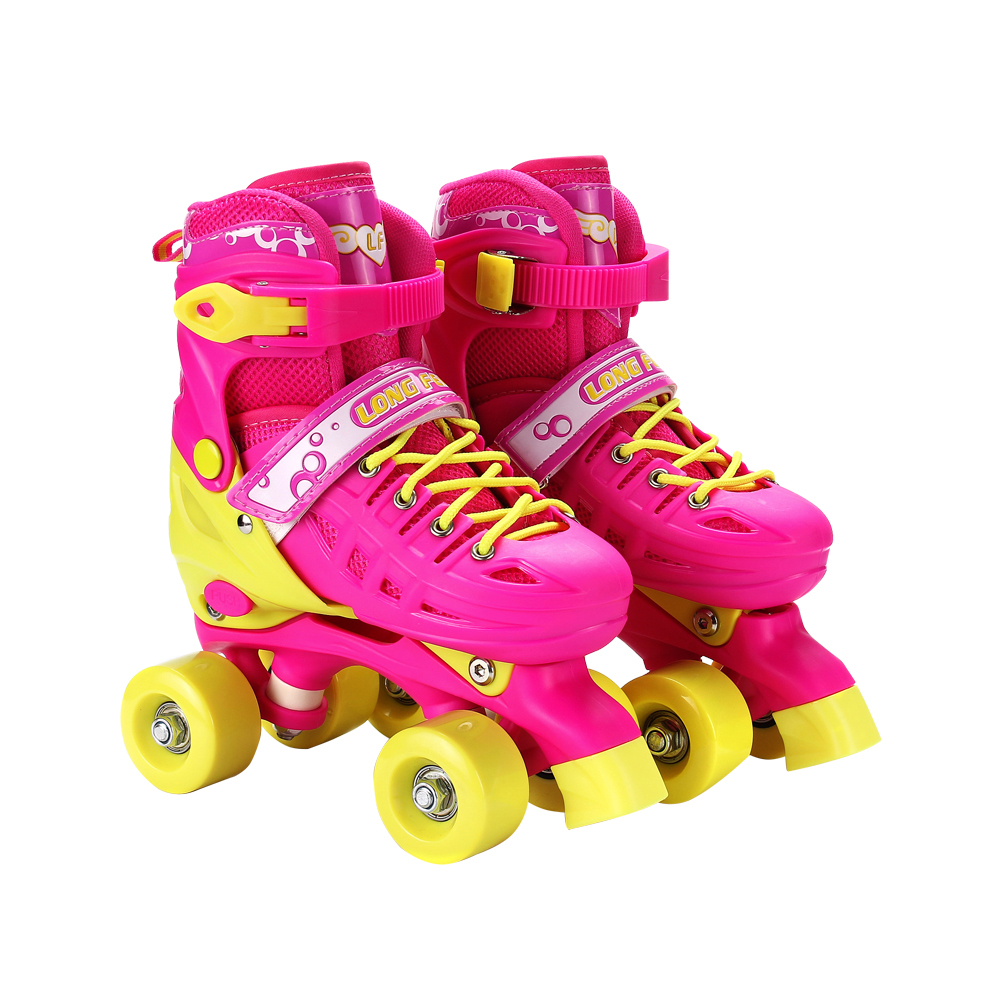 4 Wheel Adjustable Roller Skates Quad