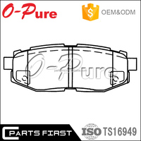 Factory price China brand back plate disc break pad brake pads For Legacy for sale