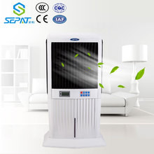 DC/AC solar rechargeable air cooler with remote