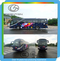 china bus manufacture 12m luxury passenger bus diesel tourist coach bus hot sale