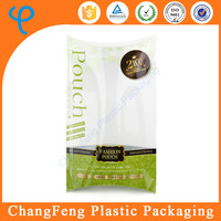 printed logo pillow case plastic packaging