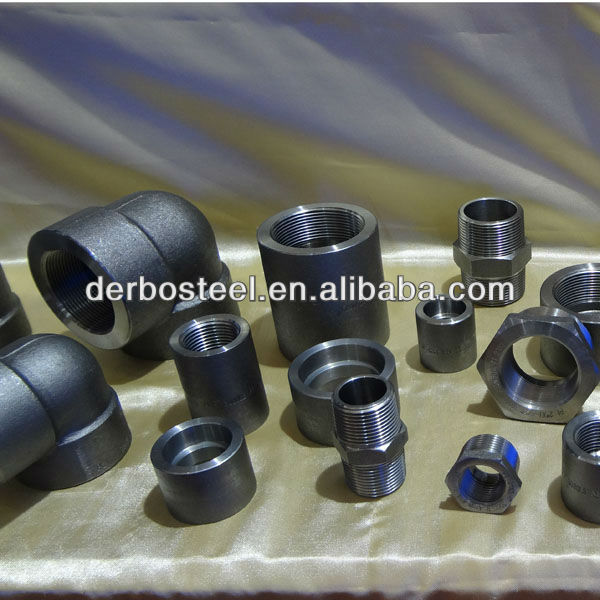 Forged Components Galvanized Pipe Fitting