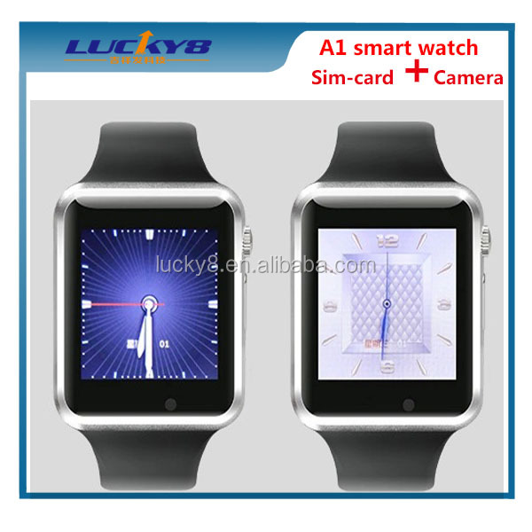 2015 ce rohs A1 Smart Watch Without Phone, Watch Hands-Free Phone Calling