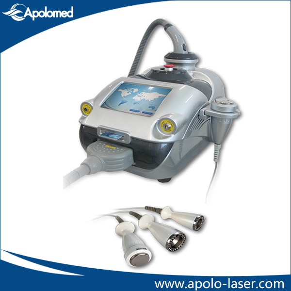 Vacuum and cavitation slimming equipment