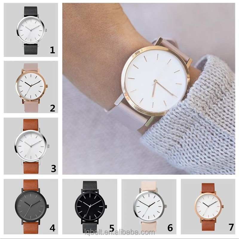 new fashion women's watch wrist watches fashion western watch for men promotional quartz hot