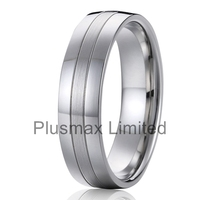 Alibaba retail buying very cheap price never fade high polished 925 silver color surgical steel wedding ring for man