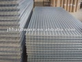 Galvanized welded fence panels