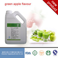 food additice food grade flavour for ice-cream/beverages/bakery/drinks/artificial fruit flavor concentrate green apple flavour