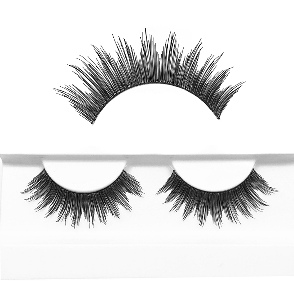 Factory Price Free Sample Customized Packages Lash Top Strip Real Human Hair Eyelashes
