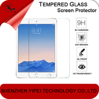 Top quality !!! 9H hardness clear sparkle diamond screen protector for iPad Air/5