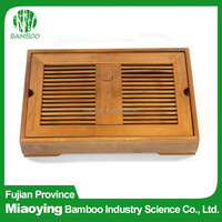 Hotel Antique Bamboo Serving Tea Tray
