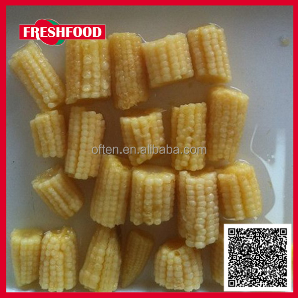 New ingredient fresh corn 400g non gmo canned yount cut corn