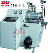 Pin type horizontal bead mill for lithium anode paste grind machine