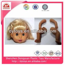 plastic doll face hand