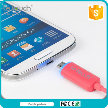 shenzhen company supplier lightweight Easy to plug led micro usb samsung cable