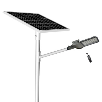 Hot sale waterproof 6m 400w solar led street light pole