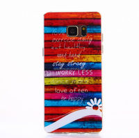 IMD TPU gel cover case for Samsung Galaxy Note 7, Flag case for Galaxy Note 7