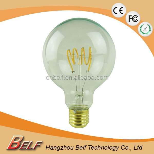 home made innovating products g80 e27 G95 4w led bulb