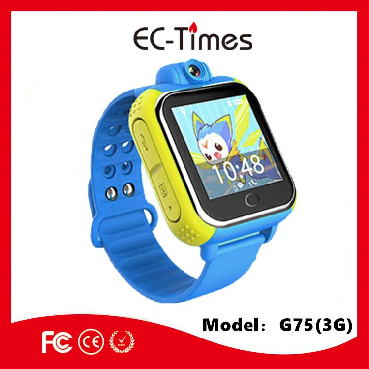 mobile phone 2G 3G SOS panic button tracker kids gps watch with micro SIM card Q50