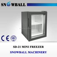 Commercial Upright freezer, glass door display freezer, Ice cream mini freezer PRICE