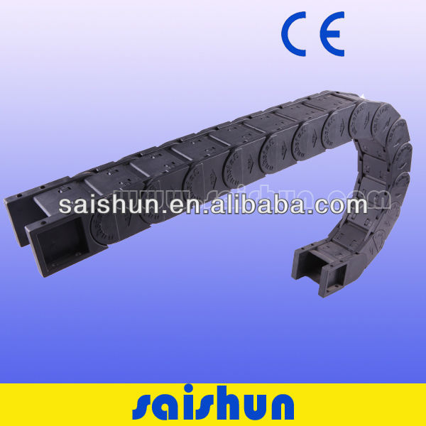 CE nylon robot cable energy cable protection drag chain