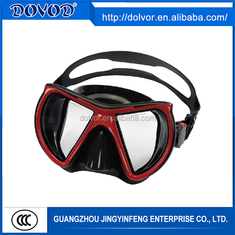 Comfortable latest design diving mask swimming equipment adult scuba diving mask