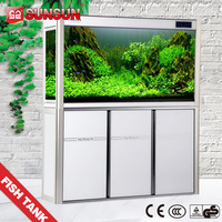 SUNSUN fish view tank HLT-series modern design acrylic aquarium
